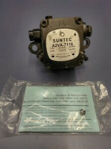 Suntec Fuel Pump A2va 7116 For Oil Burners Hot Water Pressure Washers