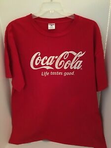 COOL VINTAGE COCA COLA T-SHIRT SIZE XL LARGE - COKE T SHIRT TSHIRT