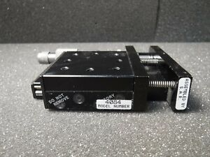 Parker 4084 Manual Driven Ball Bearing Standard Linear Positioning Stage