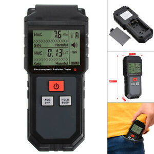 Electromagnetic Radiation Tester Emf Meter Electric Magnetic Field Detector Usa