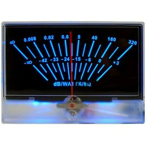 Power Amplifier Vu Meter Db Level Meter Dac Sound Pressure Meter With Backlight
