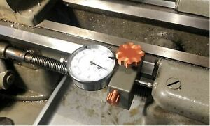 South Bend 9 10k 11 13 Logan 11 Lathes Carriage Dial Indicator Stop