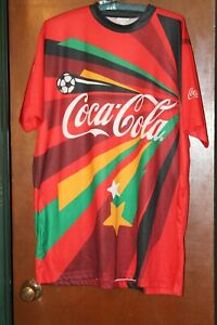 2010 FIFA World Cup South Africa Coca Cola Shirt