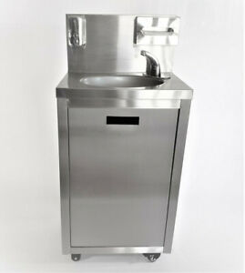 Portable Stainless Heated Hand Washing Sink