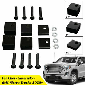 Front Driver Seat Spacer Lift Kit For Chevy Silverado For Gmc Sierra Trucks 2020
