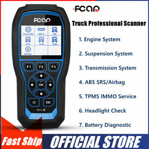 Fcar Obd2 Scanner Heavy Duty Truck Code Reader Abs Srs At Automotive Diagnostic
