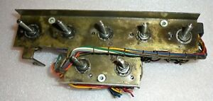 Military Hickok Tv 7 u Tube Tester Rotary Selector Switch Set Assembly