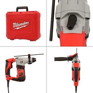 5 5 Amp 5 8 In Corded Sds plus Concrete masonry Rotary Hammer Drill Kit With