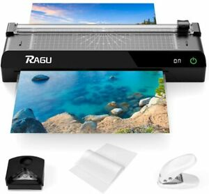 A3 Hot Touch Screen Laminator Machine W 40 Pouches Paper Trimmer Corner Rounder