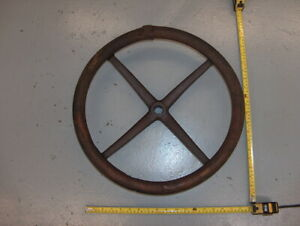 Vintage Model T Wooden 4 Spoke Steering Wheel 17 Ford Chevy Buick Antique