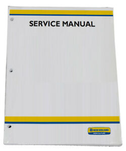 New Holland Boomer 45 Boomer 50 Boomer 55 Cab rops Tier 4b Service Manual