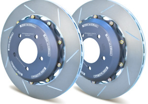 Girodisc Rear 2pc Floating Rotors For Chevy Corvette C5 With Z51 Package
