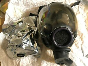 Authentic Msa Millennium Cbrn 40mm Gas Mask Medium Oem Msa With Sealed Filter