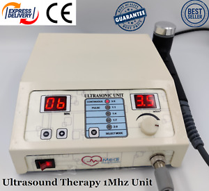 Portable Ultrasound Therapy Machine Ultrasonic Pain Relief Physical Therapy Unit