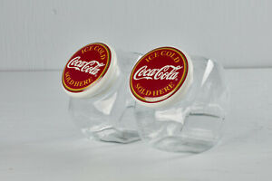 One Coca Cola Old Fashioned Candy Store Cookie Jar Ceramic Lid