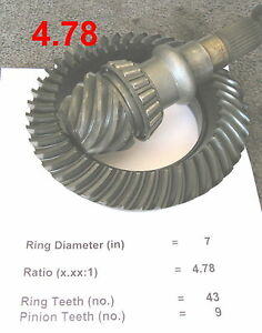 Honda S2000 Mazda Rx 7 Lsd 4 78 Differential Racing 7 Ring And Pinion Gear