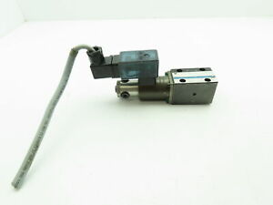 Hydrolux Hydraulic Proportional Pressure Relief Solenoid Control Valve W driver