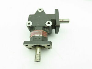 Crown 55408 Zero Max Right Angled Gear Drive 3 4 Two way Shaft 1 1 Ratio 208806