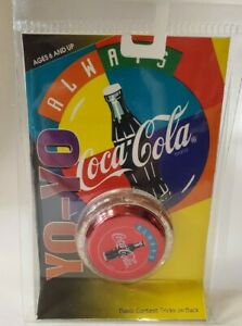 Coca-Cola Yo-Yo Red with Red Flake Sides - New In Package