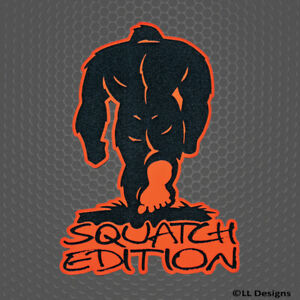 Custom Badge Emblem squatch Edition For Jeep Wrangler Chevy Ford Bigfoot