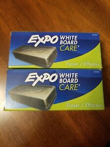 2 pack Expo White Board Care Eraser For Dry Erase Boards lot Of 2 New