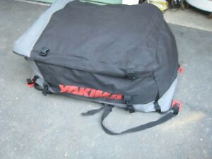 Yakima Car Top Roof Car Suv Top Travel Cargo Luggage Bag Carrier Very Nice See