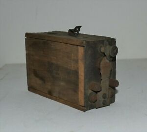 Antique Model T Ford Wooden Buzz Box Ignition Coil Box