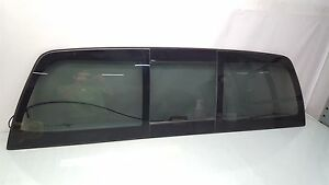 07 13 Toyota Tundra Double Cab Limited Powered Sliding Rear Window Assembly Oem