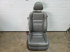 2004 2006 Acura Tsx Front Drivers Left Side Leather Grey Seat Assembly Unit Oem
