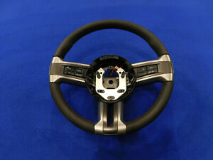 12 2012 Ford Mustang Boss 302 Oem Suede Leather Steering Wheel Good Used I19