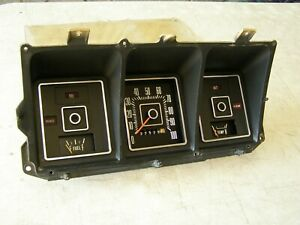 Oem Ford 1973 Truck Pickup Dash Cluster Gauges 1974 1975 1976 1977 1978 1979