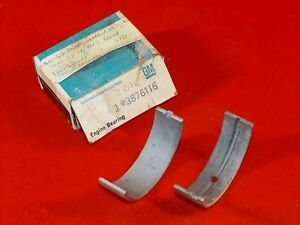Nos Rare Gm 1964 67 Chevrolet 283 327 V8 Crankshaft Front Main Bearings 3876116