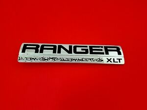 06 07 08 09 10 11 Ford Ranger Xlt Side Fender Emblem Logo Badge Sign Oem 2010