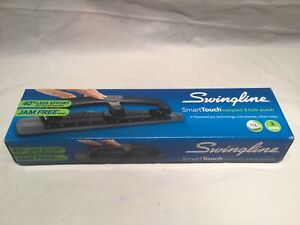 Swingline Smarttouch Compact 3 hole Punch New In Box
