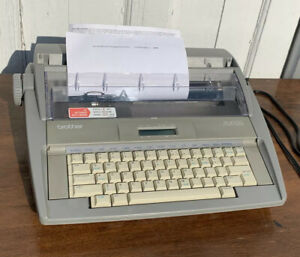 Brother Sx 4000 Daisywheel Electronic Dictionary Typewriter Tested Great Cond