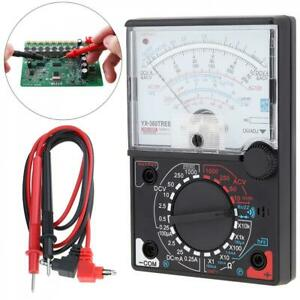 Pointer Analog Multimeter Ac dc Voltage Voltmeter Dc Ammeter Ohm Tester Test Pen