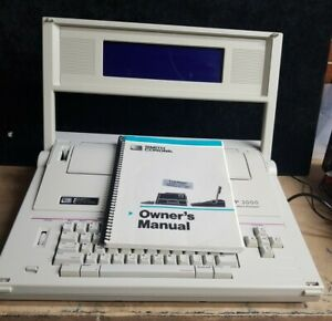 Smith Corona pwp 3000 Personal Word Processor Typewriter tested Working