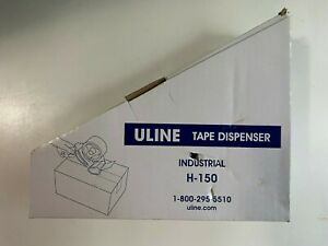 Uline H 150 Industrial Side Loader Hand held Packaging Tape Gun Dispenser 2 New