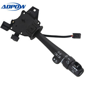 Multi Function Wiper Turn Signal Switch Hazard Fit For Chevrolet Gmc Cadillac