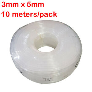 10 Meters pack Flexible Solvent Ink Tube 3mm X 5mm For Wide Format Printers