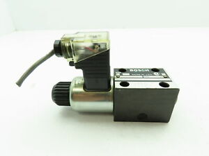 Bosch Hydraulic Directional Proportional Solenoid Control Relief Valve 4600 Psi