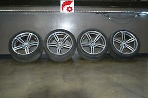06 07 08 09 10 Bmw M5 M6 Wheel Rim Set Oem 19 W tires Staggered Forged