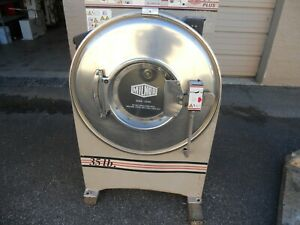Milnor 35lb Commercial Washing Machine hard Mount with Steam Injection 208 240
