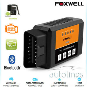 Foxwell Elm327 Obd2 Bluetooth Diagnostic Code Reset Scanner Android Fits Peugeot