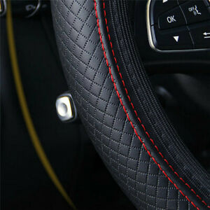 Car Steering Wheel Cover For 15 37 38cm Pu Leather Good Grip Car Accessories