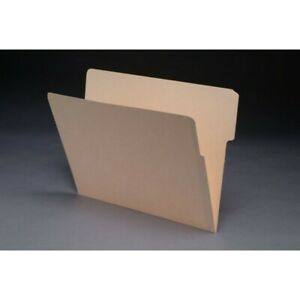 11pt Manila Folders 1 3 Cut Top 2 ply End Tab Letter Size box Of 100