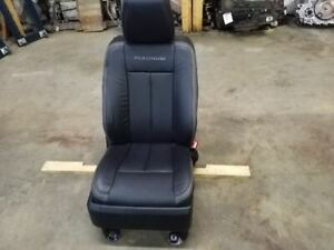Front Right Passenger Black Platinum Leather Seat Fits 15 17 Ford Expedition
