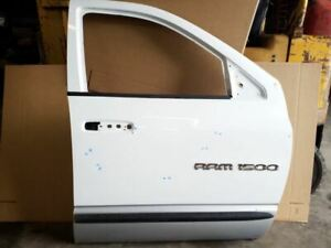 White Grey Front Right Passenger Door Shell Fits 2003 2007 Dodge Ram 1500 Qc
