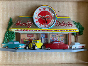 Coco Cola Clock Family Drive-In 1993