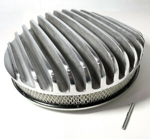 Vintage Style 14 Inch Round Deep Full Finned Air Cleaner Element